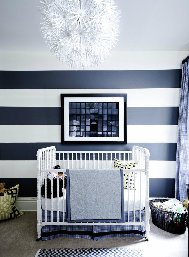 Baby Boy Room Wall Ideas: Idea: Decorate With Stripes