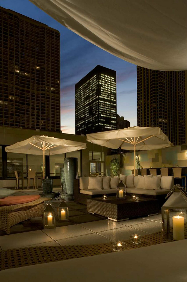 GET INSPIRED – Stunning Rooftops in Chicago - The Terrace Rooftop at The Conrad Hotel Chicago rooftop bars GET INSPIRED – Stunning Chicago Rooftop Bars The Conrad Hotel