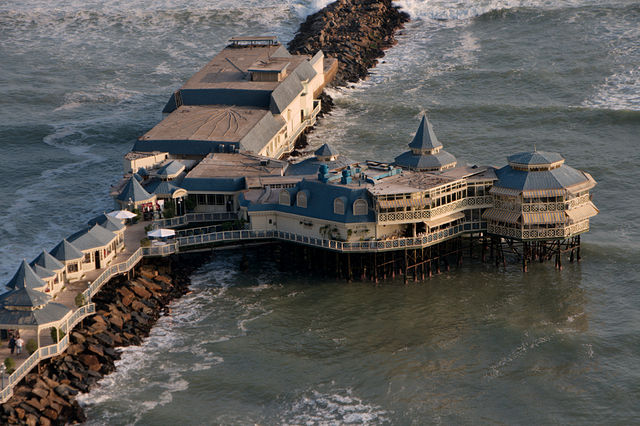 10 Amazing Waterfront Restaurants Around the World  10 Amazing Waterfront Restaurants Around the World Waterfront Restaurant Rosa Nautica Lima