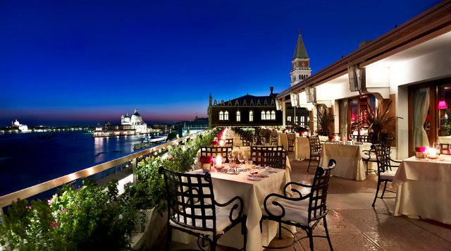 Waterfront-Restaurat-Hotel-Danieli-Venezia  10 Amazing Waterfront Restaurants Around the World Waterfront Restaurat Hotel Danieli Venezia