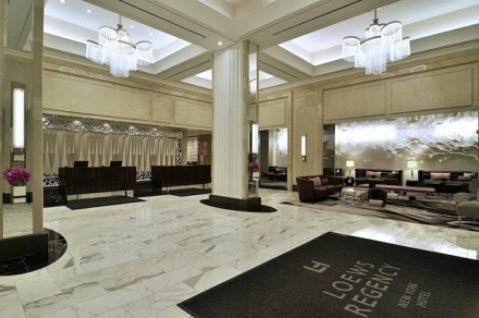 Best hotel project inspiration in Loews Regency Hotel NYC