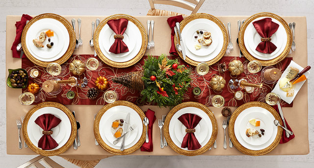 thanksgiving color combinations thanksgiving color combinations Best Thanksgiving Color Combinations: Burgundy Table Setting Brugundy THKSGVNG 1