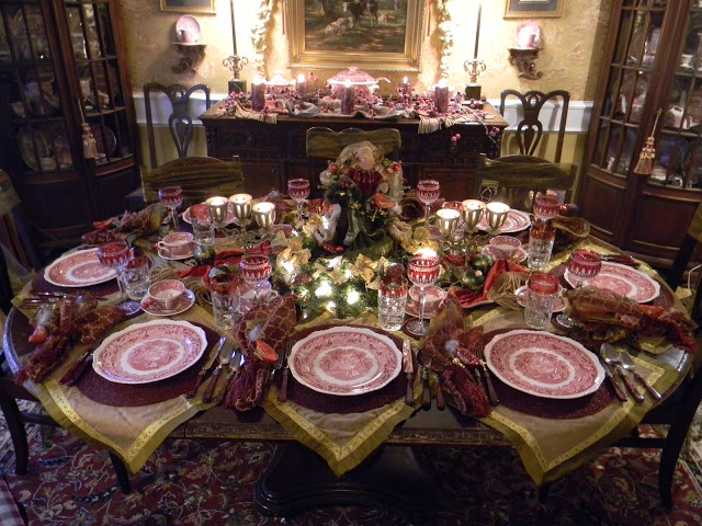 Brugundy THKSGVNG 2 thanksgiving color combinations Best Thanksgiving Color Combinations: Burgundy Table Setting Brugundy THKSGVNG 2