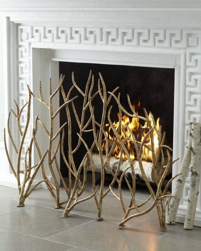 decorating ideas TOP 20 FIREPLACE Decorating Ideas FIREPLACES Autumn trends 15