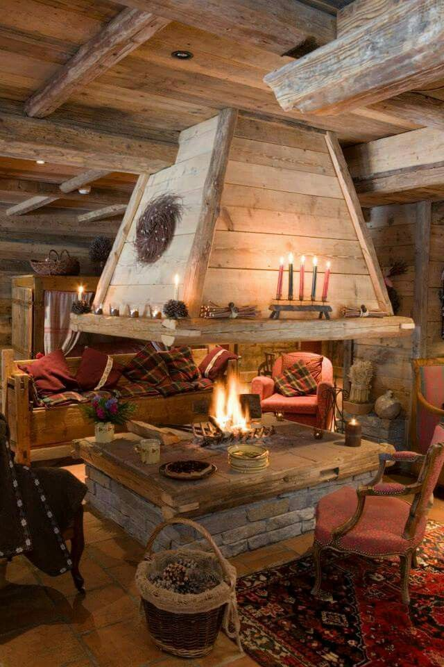 Top 20 fireplace decorating ideas for House plans with fireplace in center of house