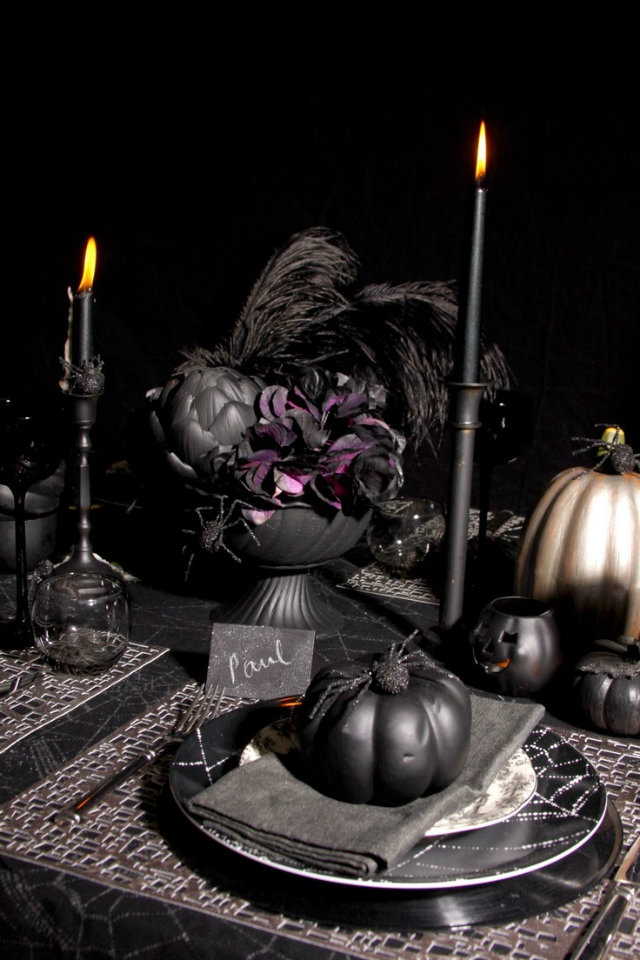 HALLOWEEN 2 home decor ideas Top Pinterest Home Decor Ideas for your Halloween Party HALLOWEEN 2