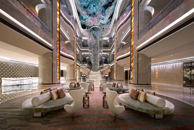 Marriot Hotels, luxury interior design trends by Hospitality-JW-Marriott-Macau hba hospitality Marriot Hotels, luxury interior design trends by HBA hospitality Marriot Hotels luxury interior design trends by HBA hospitality JW Marriott Macau 2 1