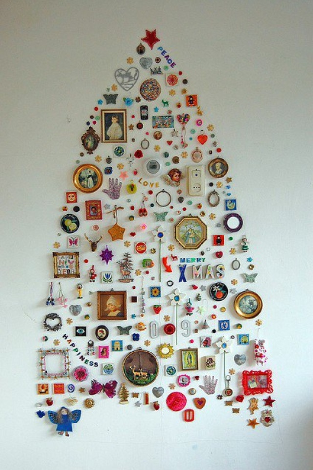 UNIQUE CHRISTMAS TREES 14 christmas tree ideas Best 24 DIY Christmas Tree Ideas UNIQUE CHRISTMAS TREES 14