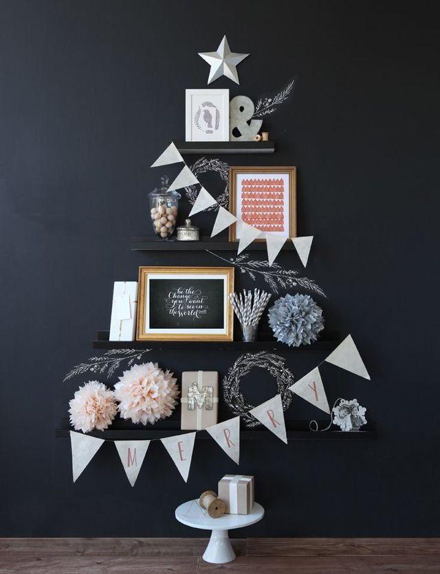 Christmas Tree Ideas christmas tree ideas Best 24 DIY Christmas Tree Ideas UNIQUE CHRISTMAS TREES 5