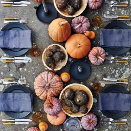 Unusual Table set decor ideas for Thanksgiving dinner
