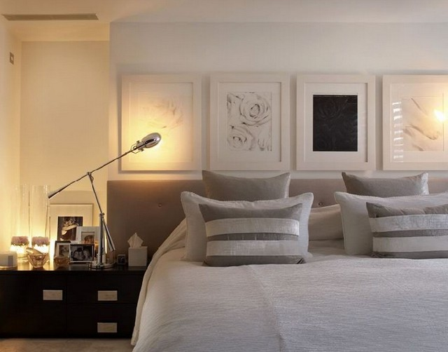 Bedroom design by Kelly Hoppen in Townhouse London kelly hoppen Top 50 Projects by Kelly Hoppen Bedroom design by Kelly Hoppen in Townhouse London