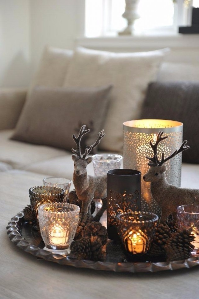 Best Ideas On How To Decorate Your Home For Christmas Table Decoration