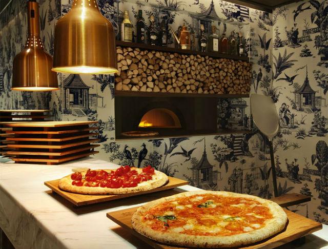 Oven baked pizza 208 duecento otto 208 Duecento Otto: an inspiring Hong Kong Restaurant Duecento Otto7