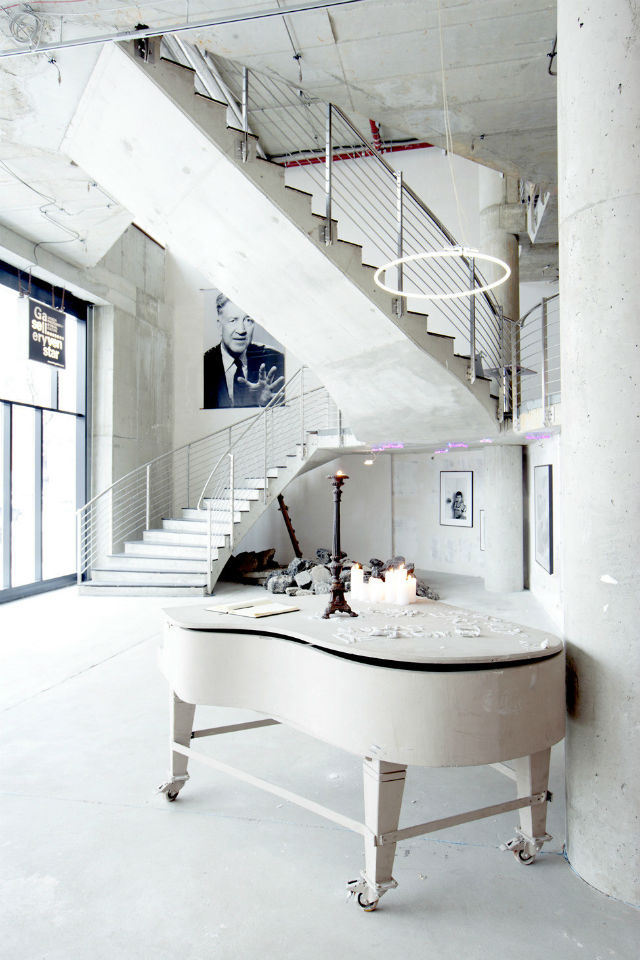Inspiration off-white is the trend color for 2016 Minimalist modern white interiors grand piano The NHow Hotel in Berlin Germany trend colors 2016 Inspiration: Off-White is one of the trend colors 2016 Inspiration off white is the trend color for 2016 Minimalist modern white interiors grand piano The NHow Hotel in Berlin Germany