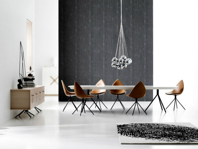 Dining room karim rashid Inspirations by Top Designer Karim Rashid Karim Rashid Dining Room Projects