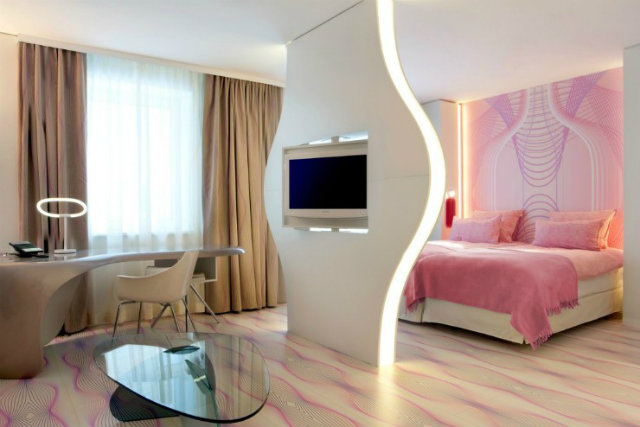 Bedroom projects karim rashid Inspirations by Top Designer Karim Rashid Karim Rashid Hospitality Bedroom Project