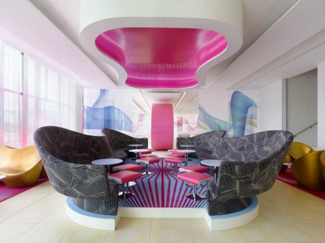 Hospitality project ideas karim rashid Inspirations by Top Designer Karim Rashid Karim Rashid Hospitality Interior