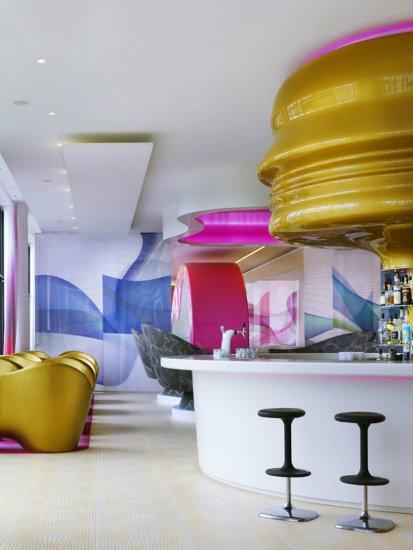 hospitality project karim rashid Inspirations by Top Designer Karim Rashid Karim Rashid Hospitality Projects