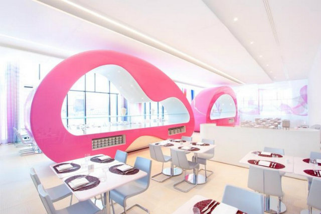 Nhow Projects karim rashid Inspirations by Top Designer Karim Rashid Karim Rashid Hospitality and restaurant Projects Nhow