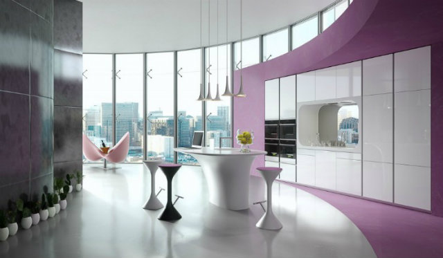 Interiors projects karim rashid Inspirations by Top Designer Karim Rashid Karim Rashid Interior Projects and colourful style
