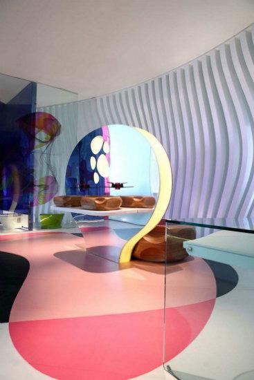 Komb House karim rashid Inspirations by Top Designer Karim Rashid Komb House by Karim Rashid