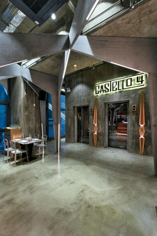 cery modern design for Castello 4 restaurant hong kong restaurant Castello 4: Get inspired with this outstanding Hong Kong Restaurant Millimeter interior design Castello