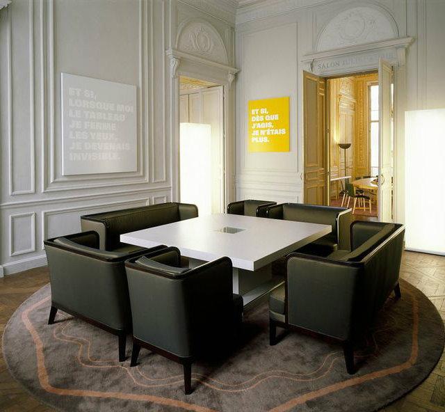 dining room design  andrée putman Best Design Inspiration by Andrée Putman Modern dining room design by Andree Putman