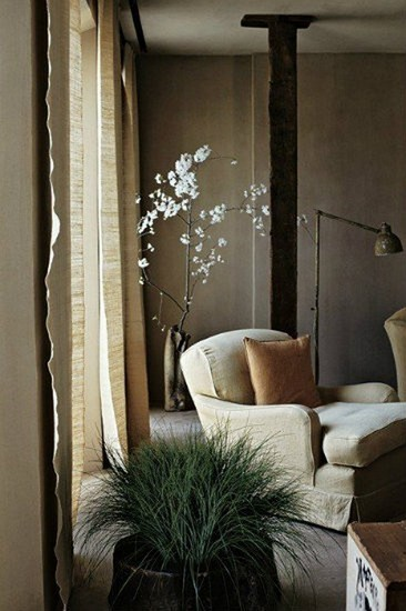 Neutral hues for living room projects axel vervoordt Top Projects by Axel Vervoordt Neutral hues for living room projects