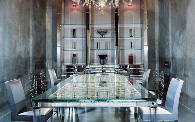 Maison Baccarat Moscow philippe starck Inspirations by Top Designer Philippe Starck Philippe Starck Maison Baccarat Moscow