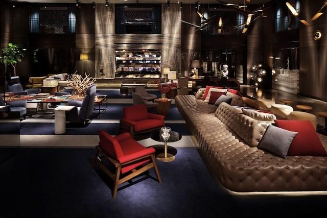Hotel Hudson New York philippe starck Inspirations by Top Designer Philippe Starck Philippe starck hotel Hudson New York