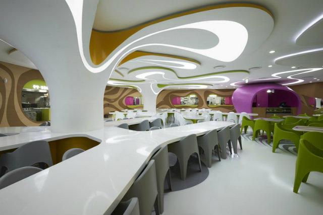 Restaurant karim rashid Inspirations by Top Designer Karim Rashid Restaurant Project by Karim Rashid