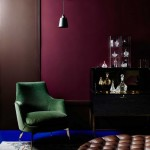 burgundy blue and green home winter colours