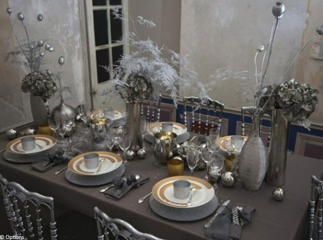 10 cozy decor ideas for your new year 39 s eve dining room for Decoration reveillon