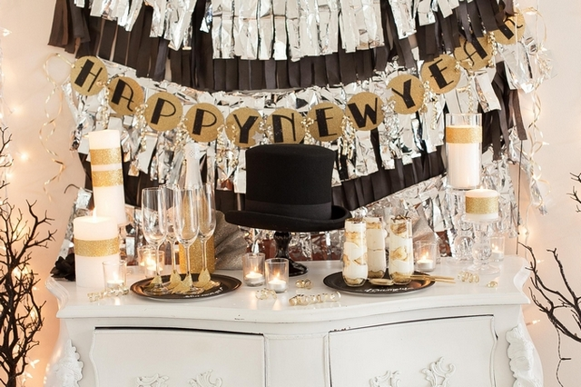 10 Cozy décor ideas for your reveillon dining room decor ideas 10 Cozy decor ideas for your New Year's Eve dining room 10 Cozy d  cor ideas for your reveillon dining room 8