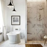 15 Marble Bathroom Ideas For Your Daily Rituals (3)