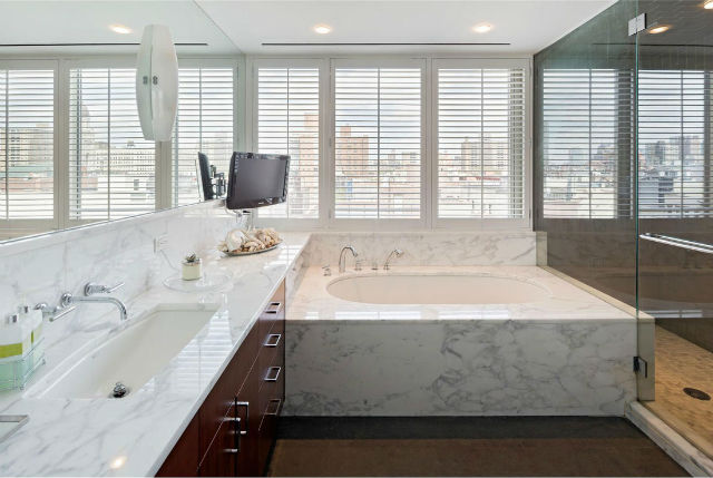 Bathroom design (7) marble bathroom ideas 15 Marble Bathroom Ideas For Your Daily Rituals Bathroom design 7