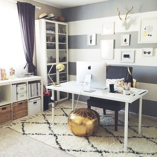 12 Mid Century Modern Home Office Inspiration Ideas