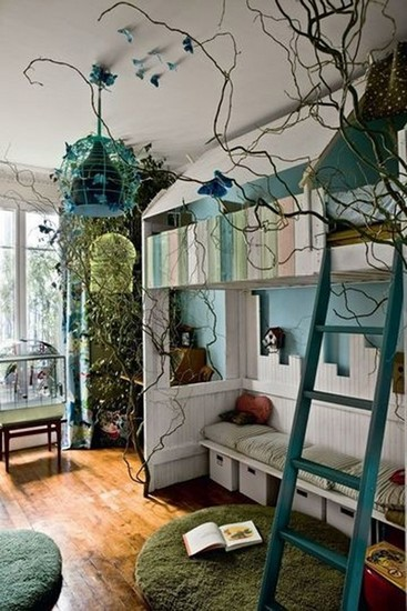 fabulous jungle house bedroom pictures | 14 nature inspired children room inspiration ideas