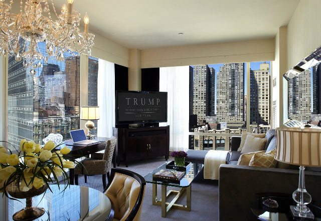 Luxury Hotels Ny Trump International Hotel New York City Best