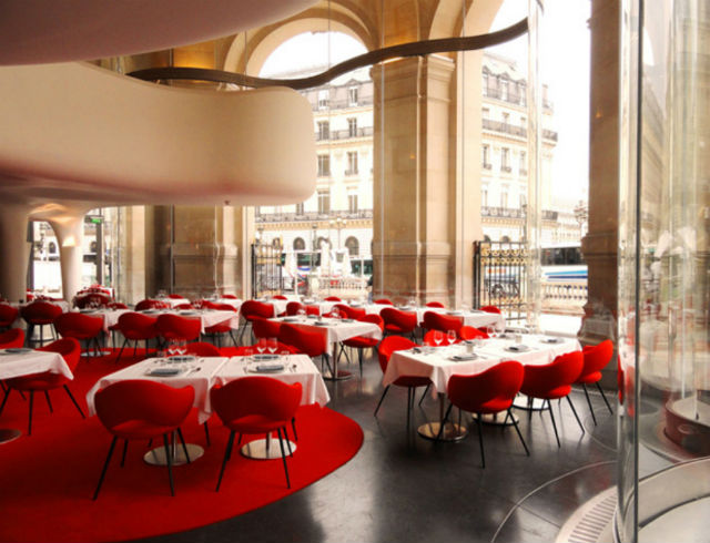 Get Inspired By These Stylish Restaurants in Paris restaurants in paris Get Inspired By These Stylish Restaurants in Paris Paris Opera Restoran