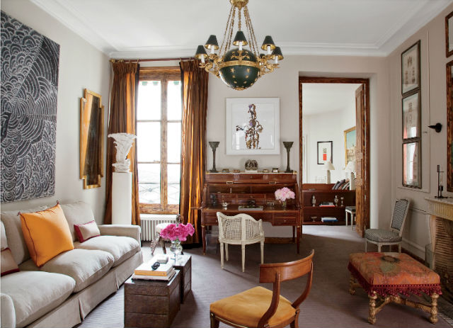 The Most Beautiful Living Rooms in Paris on Beautiful Room Pics  id=16358