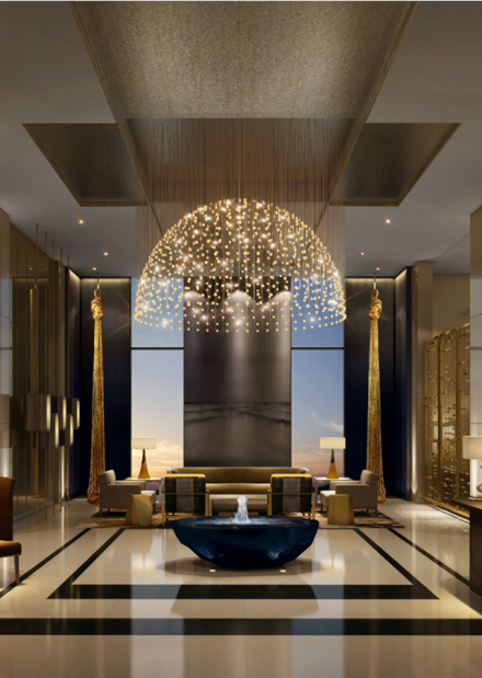 Hotel Design Ideas: Four Seasons Hotel in Dubai by Tihany Design