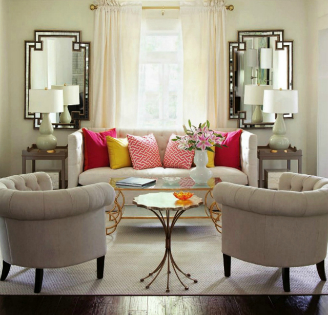 10 gorgeous living room mirrors for Living rooms ideas and inspiration