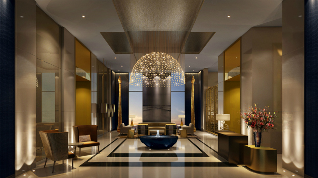 Hotel design ideas four seasons hotel in dubai by tihany for New design hotels 2016
