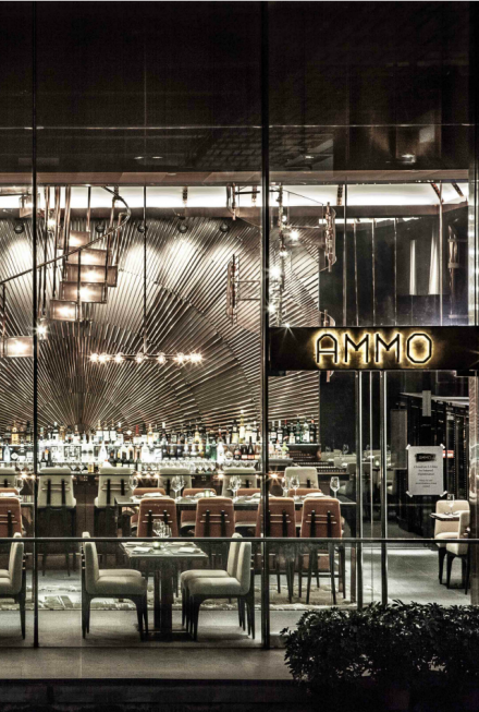 Restaurant Interior Ideas: Ammo
