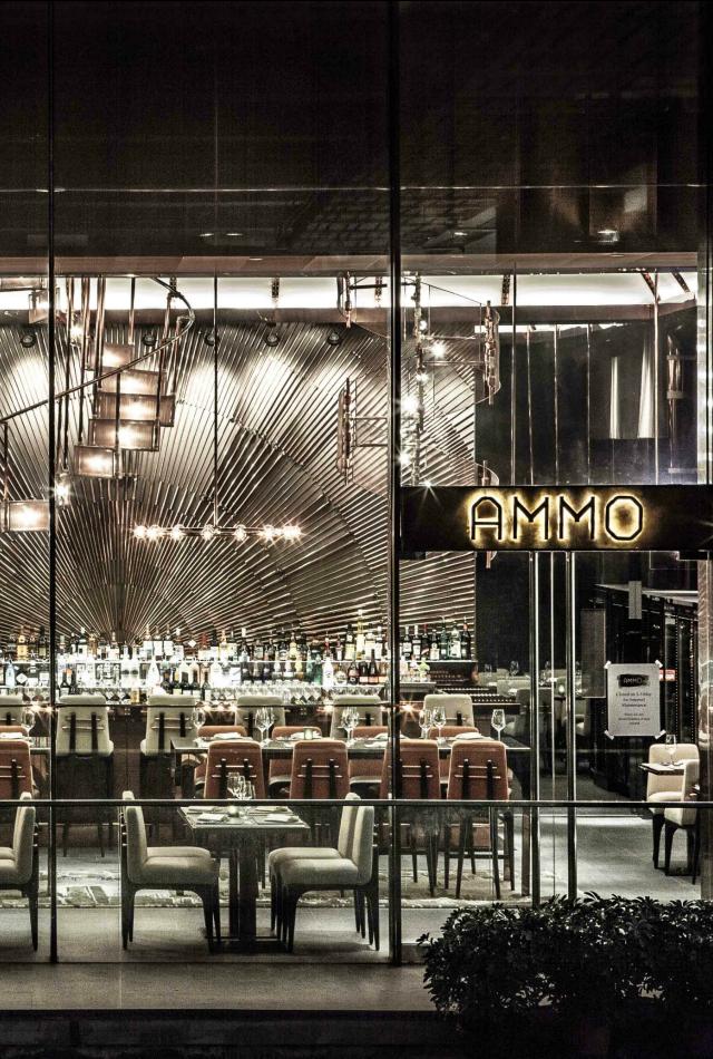 Restaurant interior ideas ammo