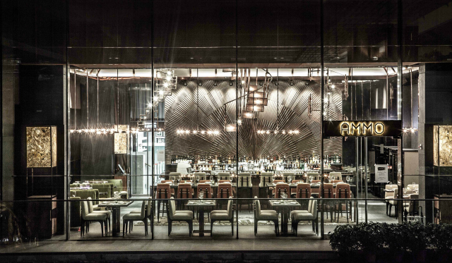 Ammo restaurant Interior  restaurant interior Restaurant Interior Ideas: Ammo Ammo restaurant Interior 1