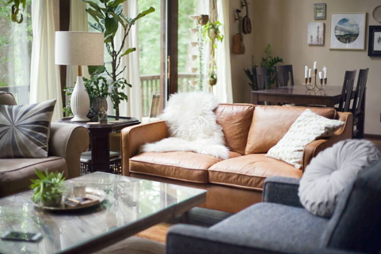 Living Room Inspiration: Tan Leather Sofa living room inspiration Living Room Inspiration: Tan Leather Sofa Awesome Hamilton Leather Sofa D97 For Small Home Remodel Ideas with Hamilton Leather Sofa
