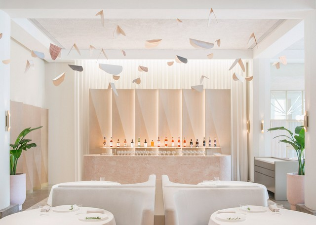 Get inspired by Universal Design Studio project - Odette Restaurant restaurant interior Get Inspired By Odette Restaurant Interior odette by universal design studio dezeen 1568 10