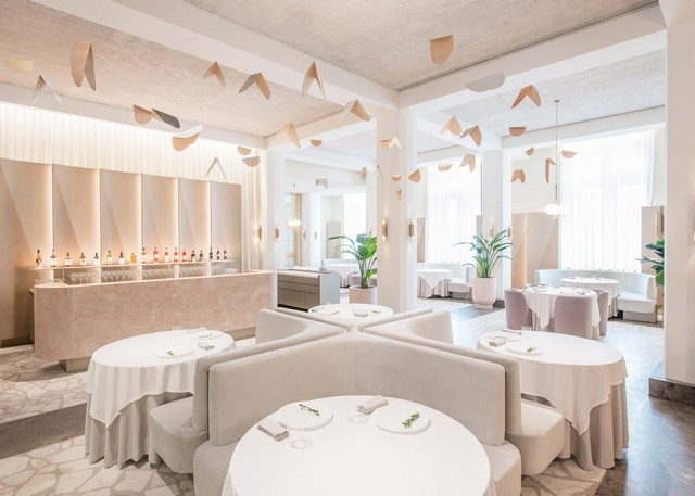 Get inspired by Universal Design Studio project - Odette Restaurant restaurant interior Get Inspired By Odette Restaurant Interior odette by universal design studio dezeen 1568 2